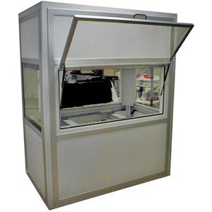 Blyboks til test af strålings udstyr