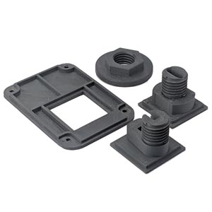 3D printet prototype af komponenter til special opgave